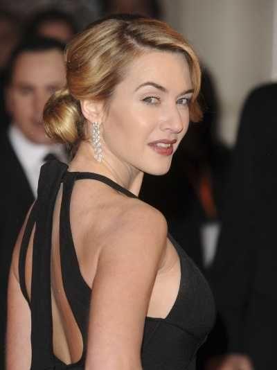 Kate Winslet 4 Love The Hair Curls Low Bun Hairstyles