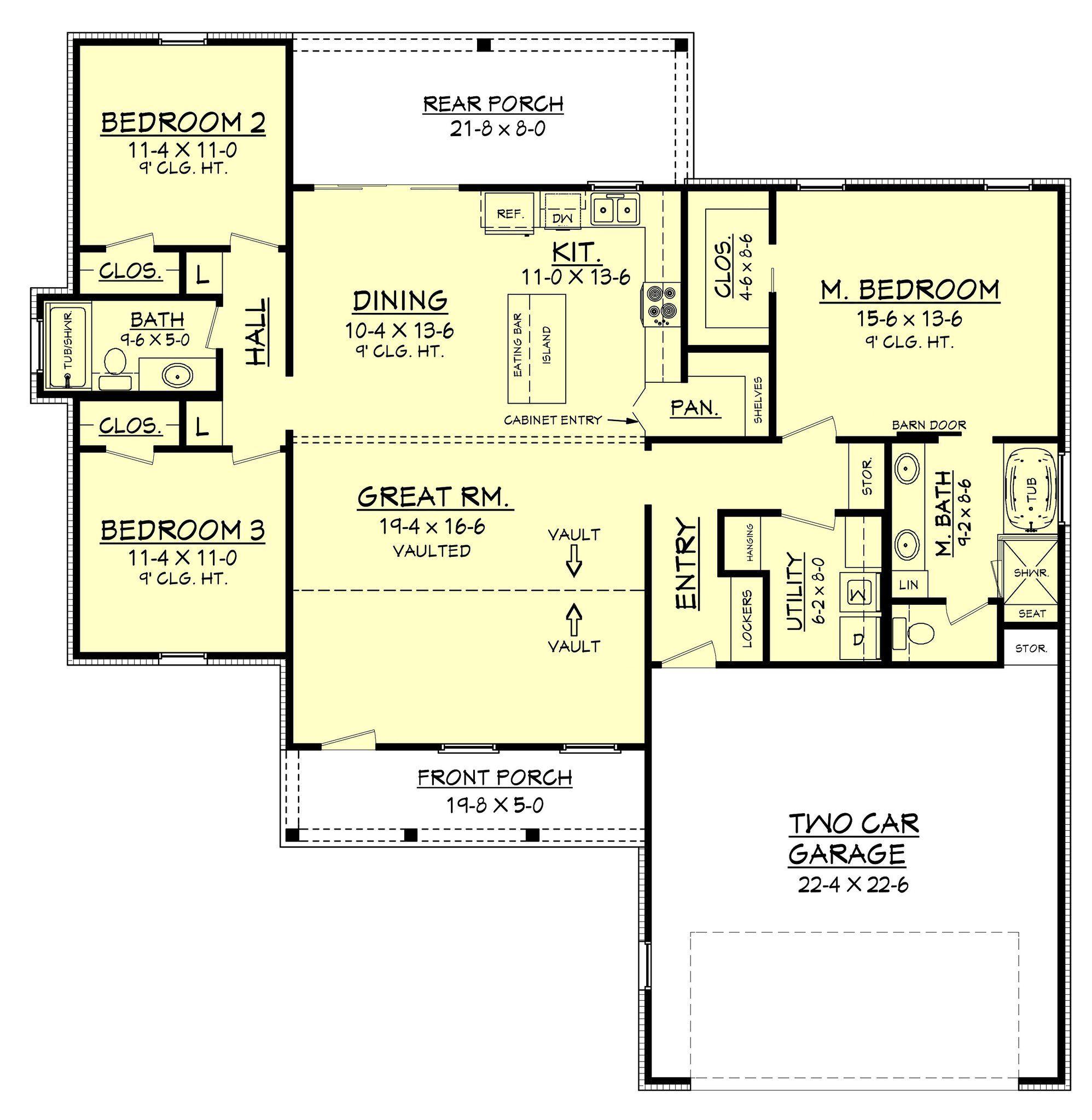 Stoney Creek House Plan House Plans Cottage House Plans Farmhouse Plans