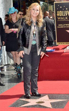 Melissa Etheridge from Stars Get Their Stars! | E! Online