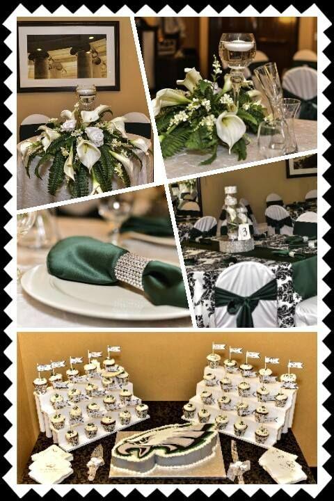 Philadelphia Eagles Inspired #wedding #theme More Less