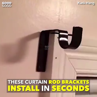 Hanging Curtains Made Ridiculously Easy Kwik Hang S Revolutionary