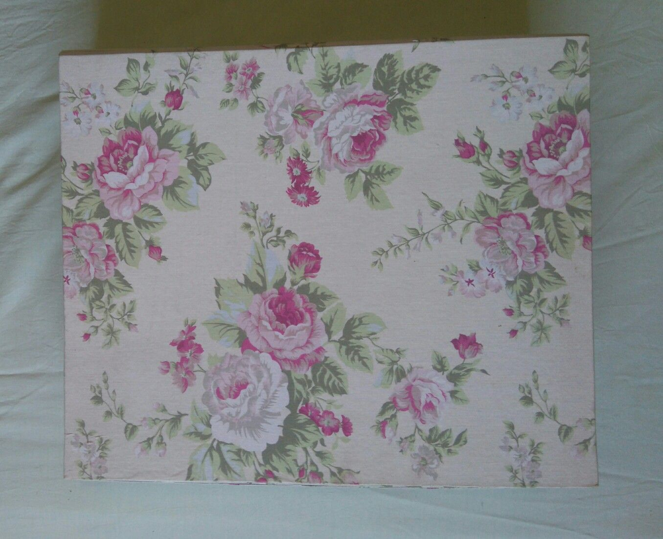 Caixa de Costura Floral  Cartonagem