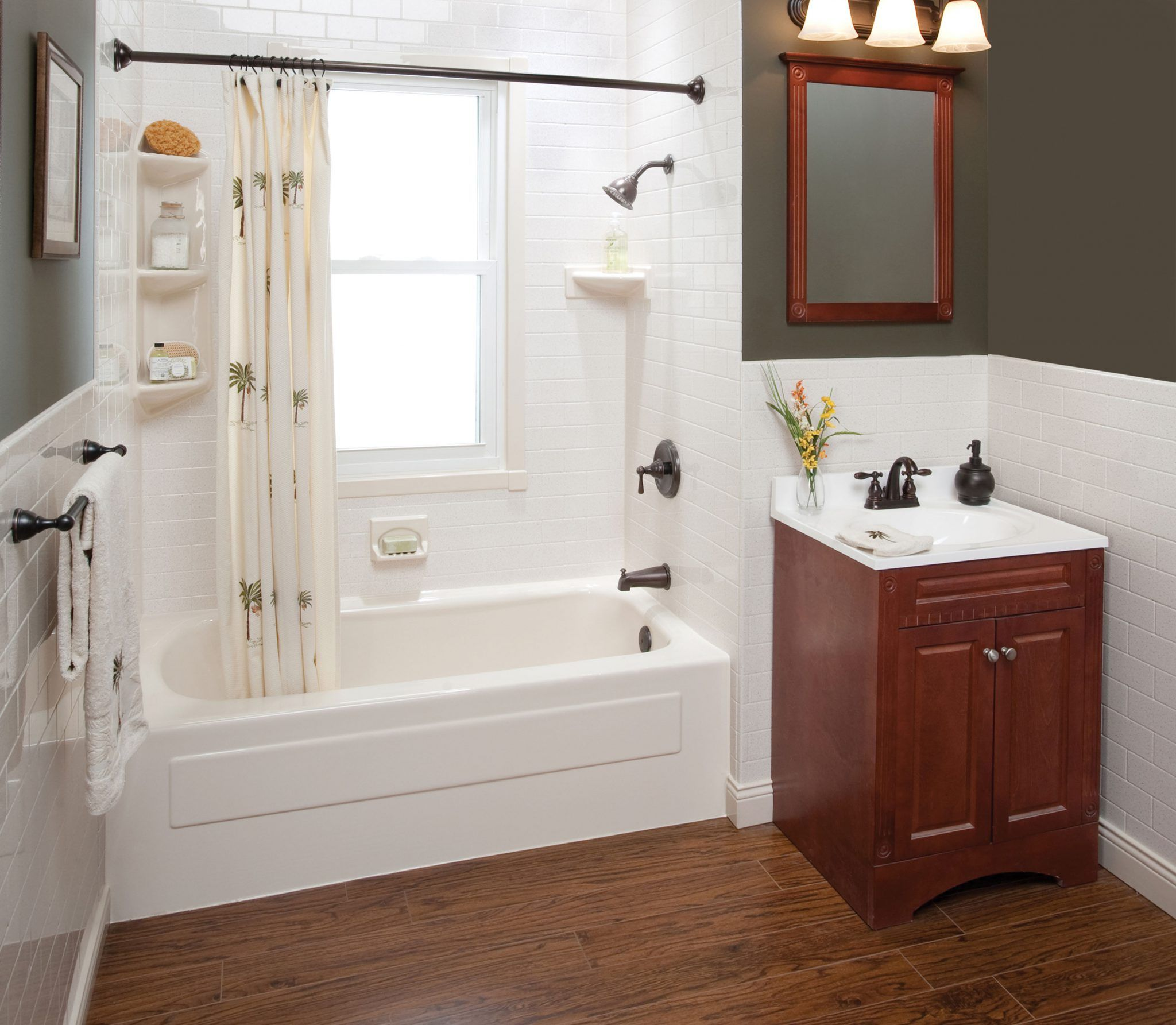 How Much Does Bath Fitter Cost Cheap bathroom remodel