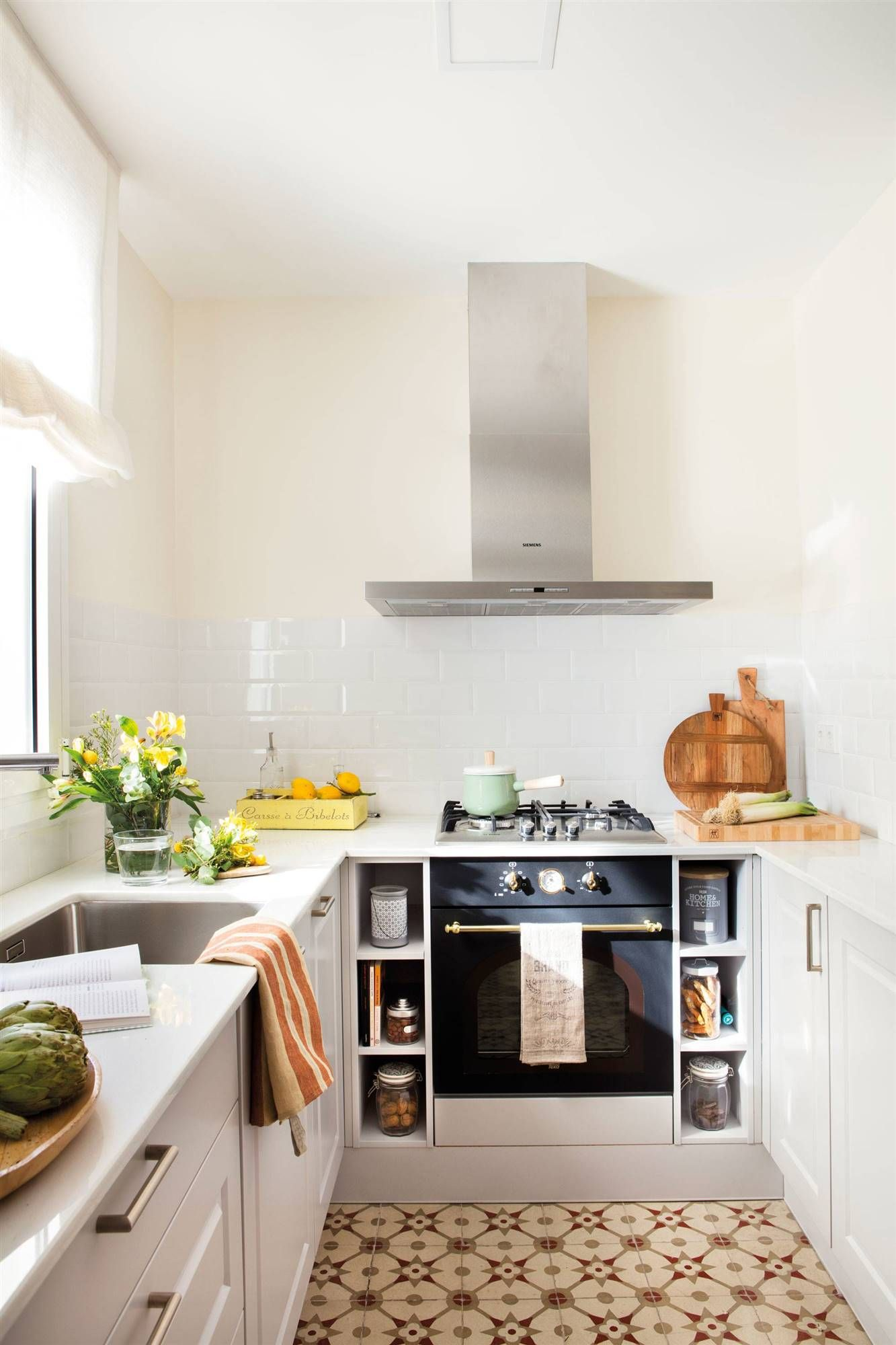 Cocinas Y Banos Pequenos De Menos De 6 Metros Cuadrados Cocinas Pequenas Muebles De Cocina Mesas De Cocina