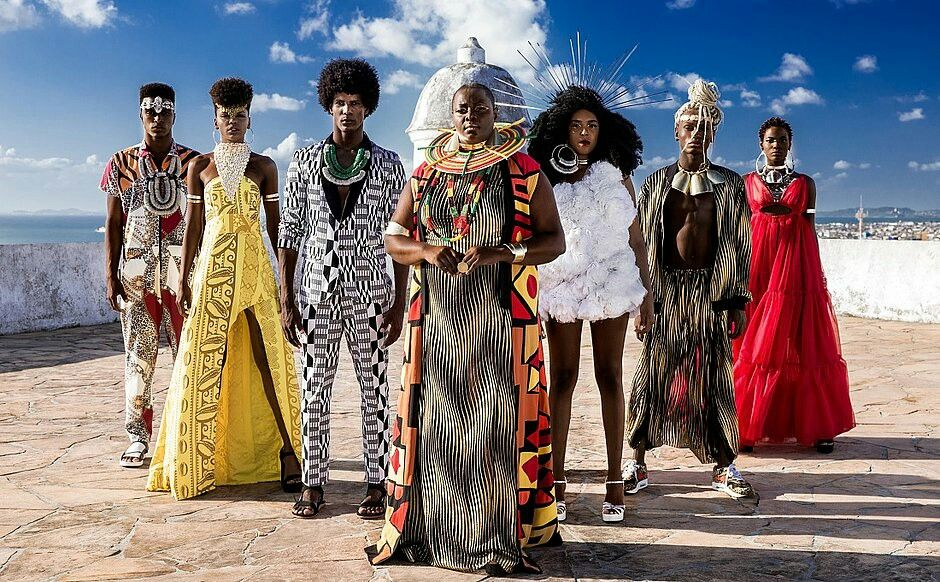 Foto Da Campanha Do Afro Fashion Day 2019 Photo Florian Boccia