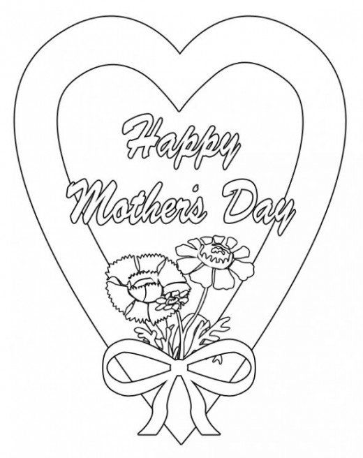 Happy Mother S Day Clip Art Images Craft Ideas Mothers Day Coloring Pages Mom Coloring Pages Birthday Coloring Pages