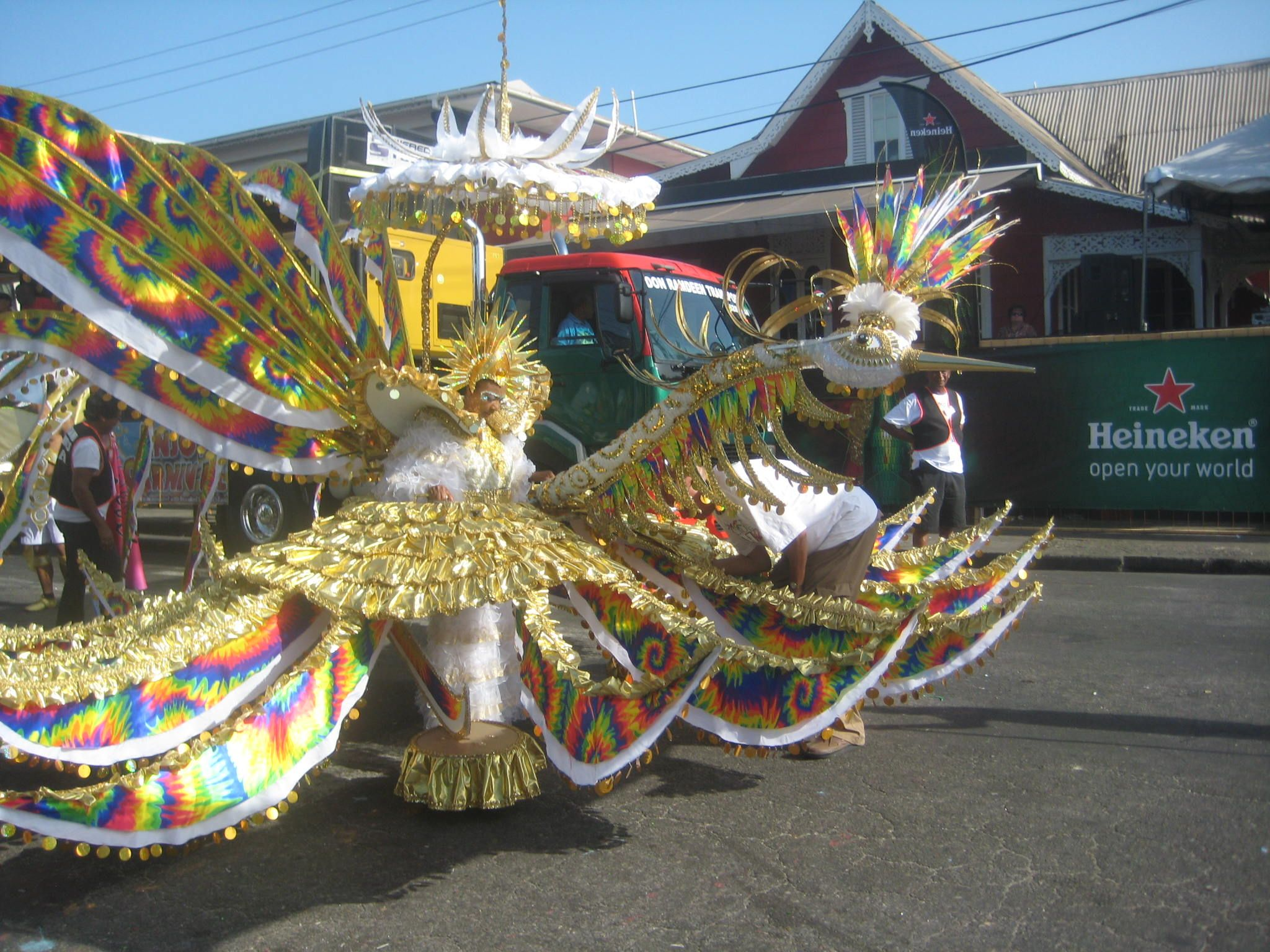 Rosalind Gabriel's Young Queen.  Carnival 2014.