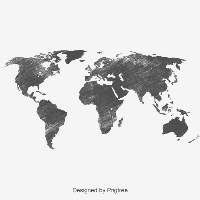 Black World Map Black World Map Png Transparent Clipart Image And Psd File For Free Download Map World Map Blue Map