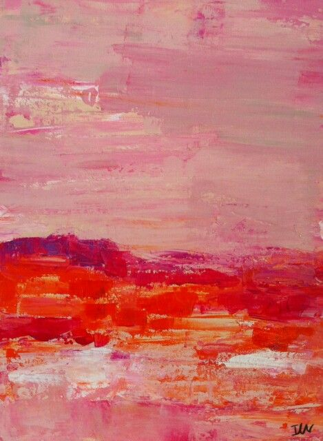 Acrylic 30x40 cms by Isabelle Nativelle