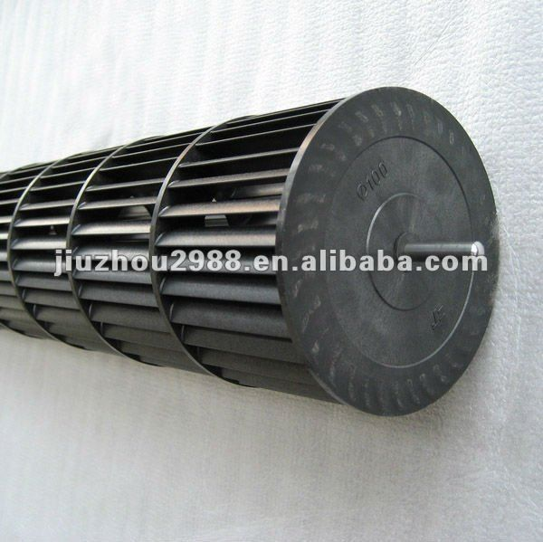 Source Plastic Blower Fan Wheel For Air Curtain Diameter 100mm