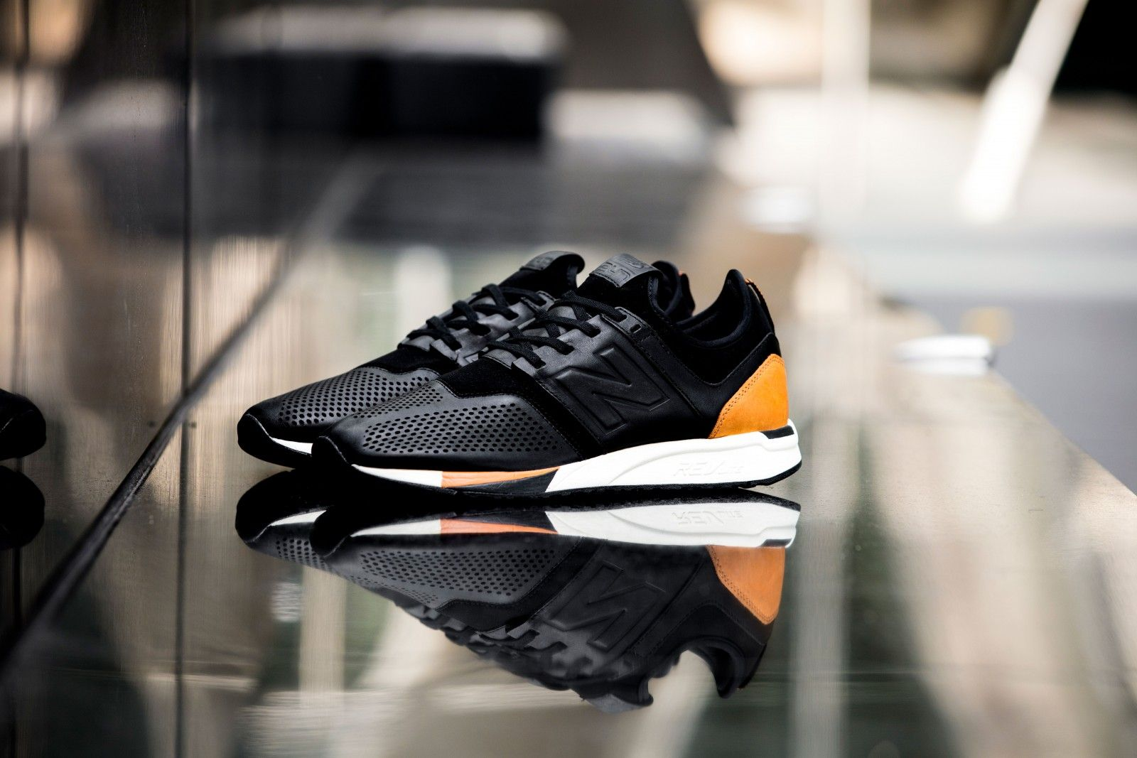new balance luxe 247 black