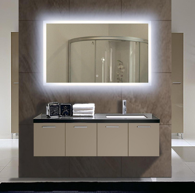 35 Stunning Bathroom Vanity Mirrors With Light Designs Bathroom