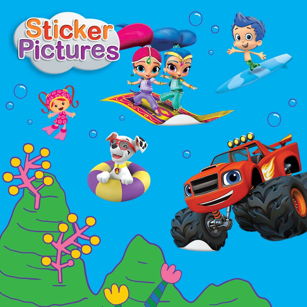 Nick Jr. Sticker Pictures (Summer 2017) | Archive Games and Toys ...