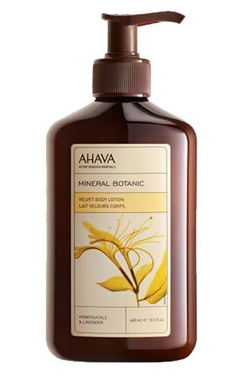 AHAVA 'Mineral Botanic Honeysuckle & Lavender' Body Lotion available at Nordstrom