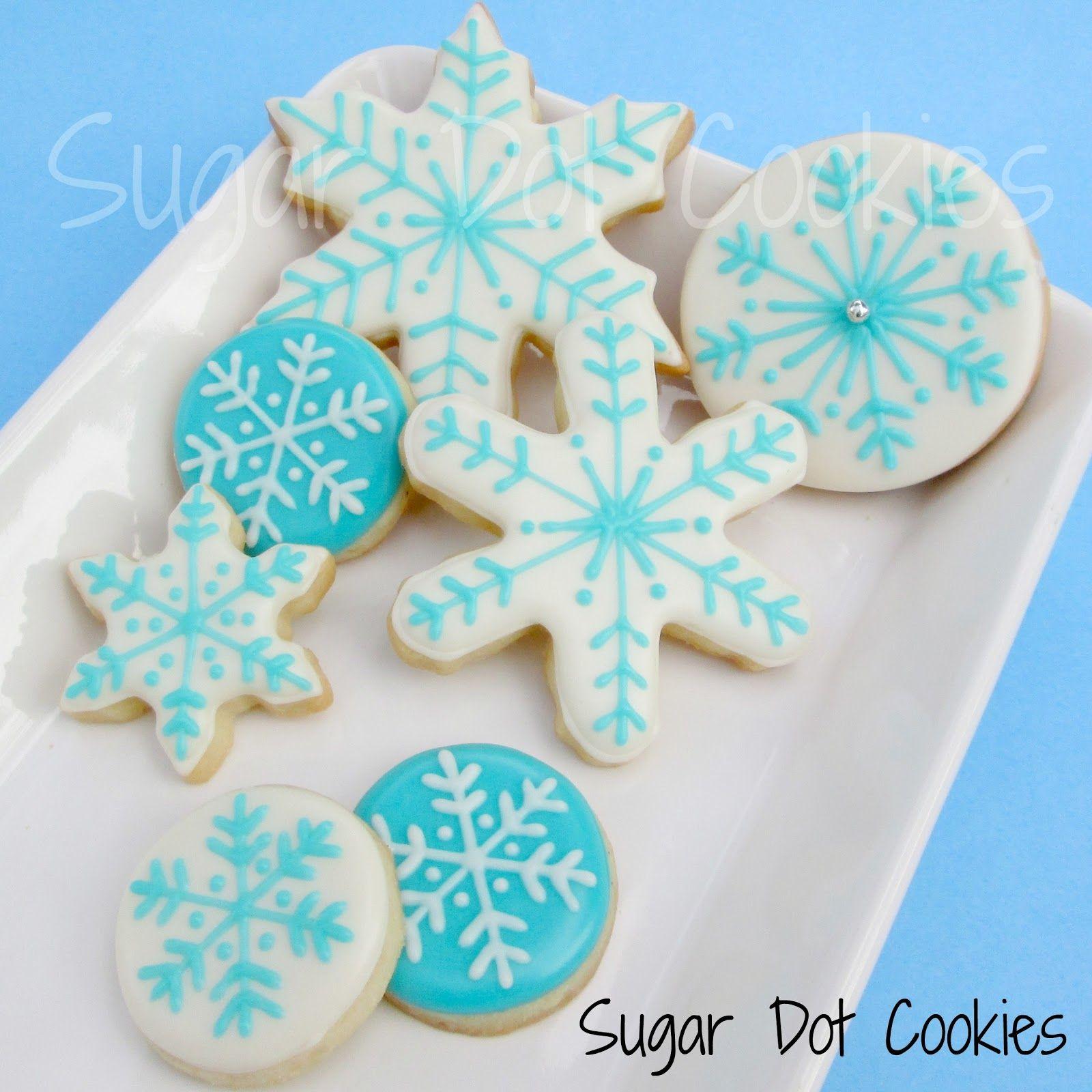 Super Simple Winter Sugar Cookies Christmas Sugar Cookie Designs