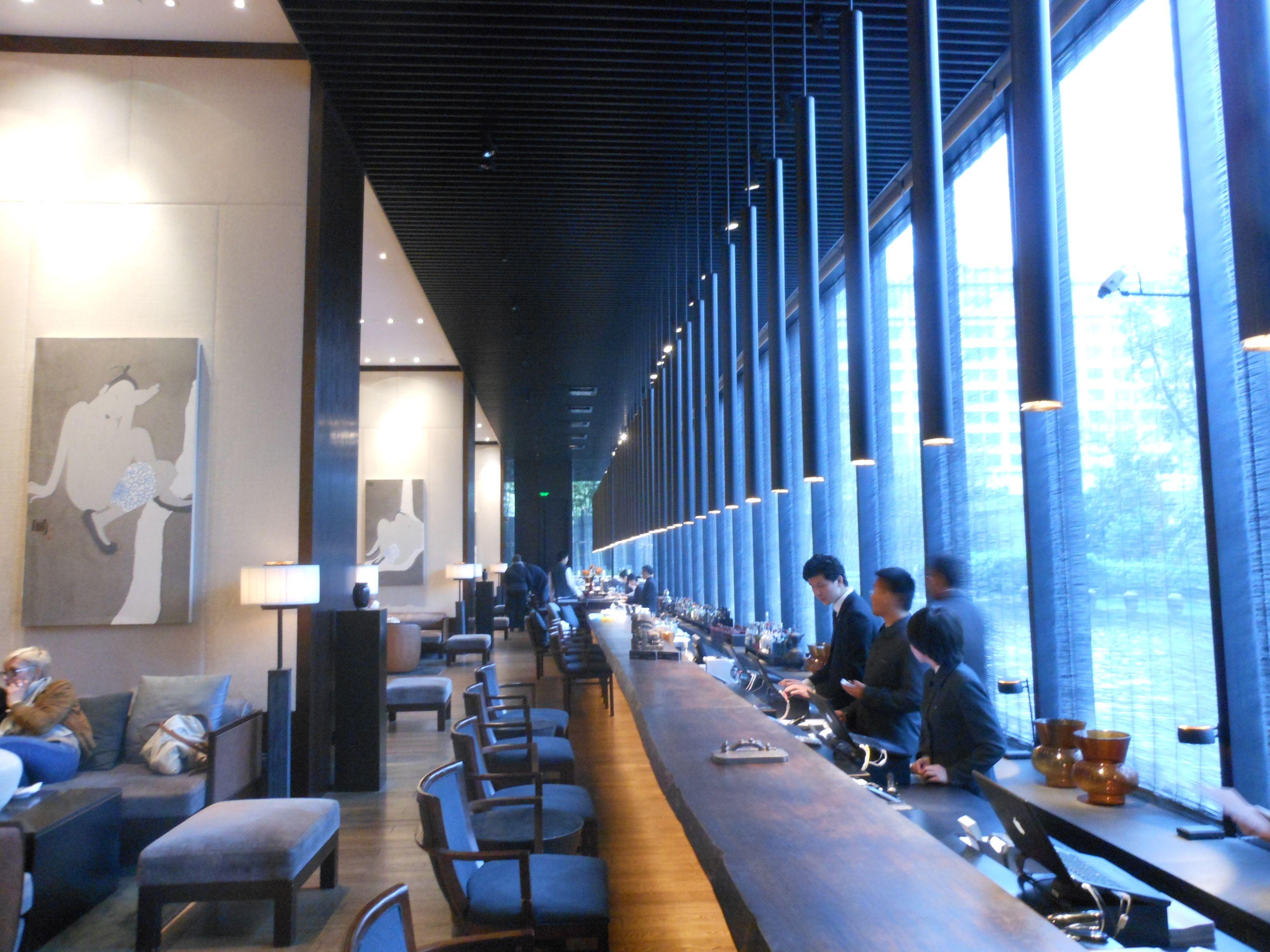 the puli hotel & spa, shanghai (china) perhaps the longest hotel, Badezimmer ideen