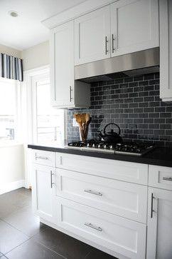 Black And White Kitchen Tiles Design Home Design Ideas