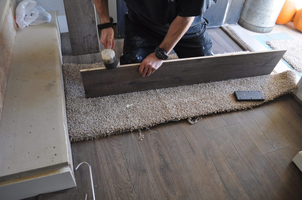 Jo's House QuickStep Stair Installation Process with