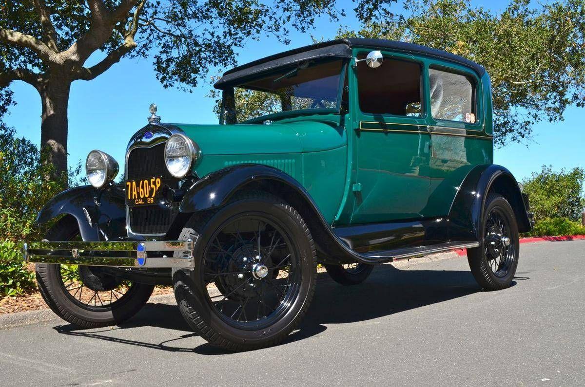 1929 Ford Model A Tudor Sedan | Personal Car History | Pinterest ...