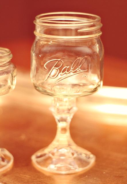 DIY Mason Jar Margarita Glass I Saw These At The Balloon