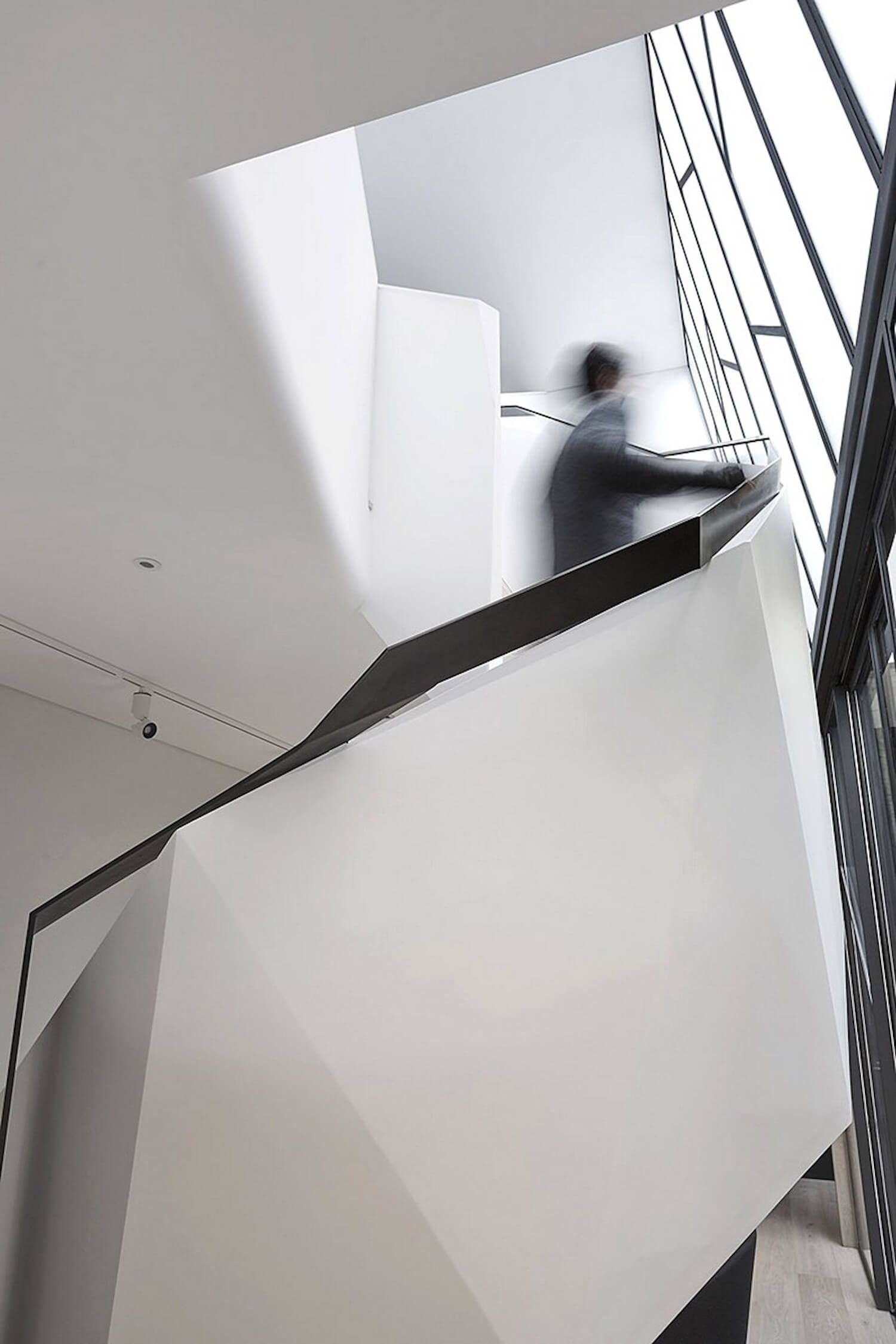 Best Fitzroy Terrrace By Adrian Amore Staircase Design Arch 400 x 300