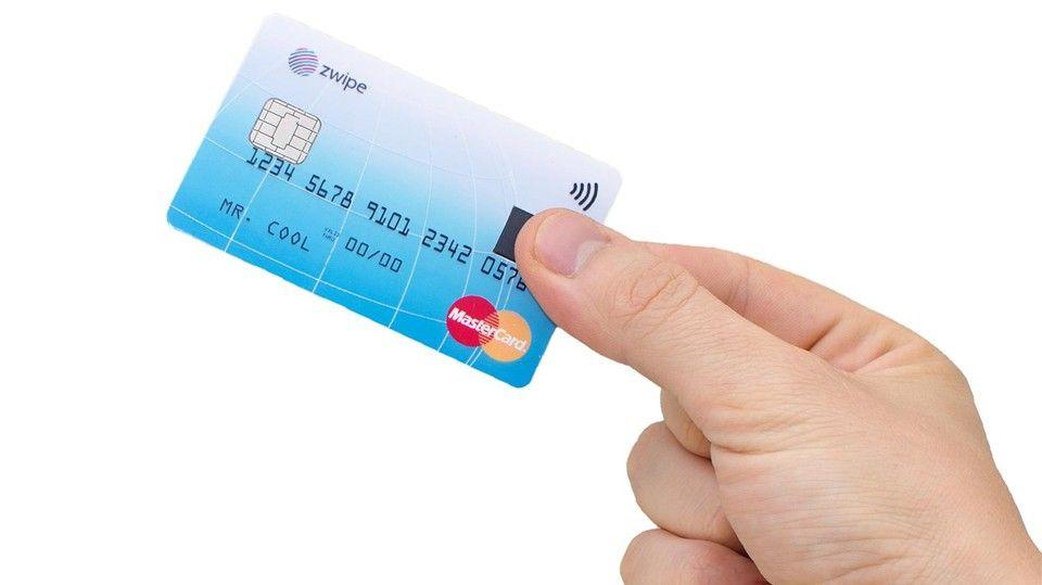 MasterCard aposta em novo cartão com reconhecimento de digital