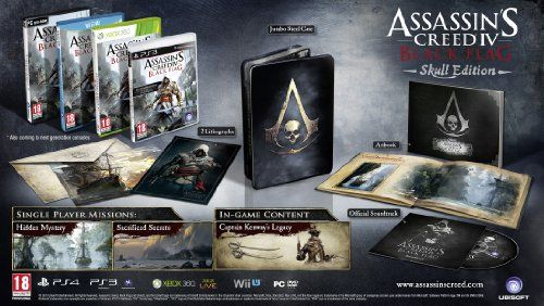 Assassins Creed Iv Black Flag Skull Edition Ps3 Check Out This