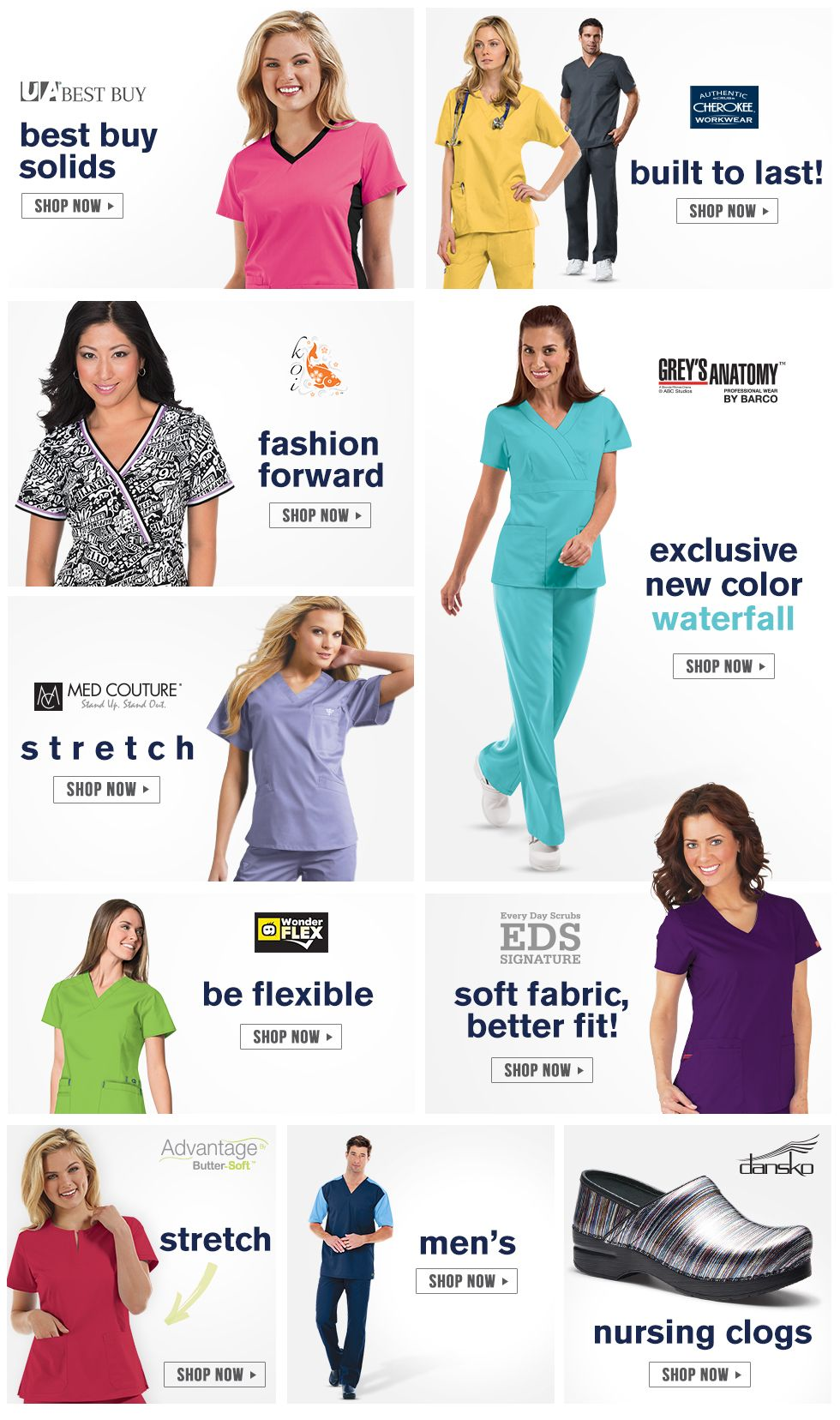 dfc5cbfbee9 Scrubs, Nursing Uniforms, and Medical Scrubs at Uniform Advantage ...
