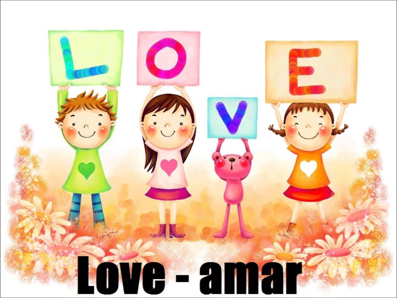Los Verbos En Ingles Para Niños Amor Lindo Laminas