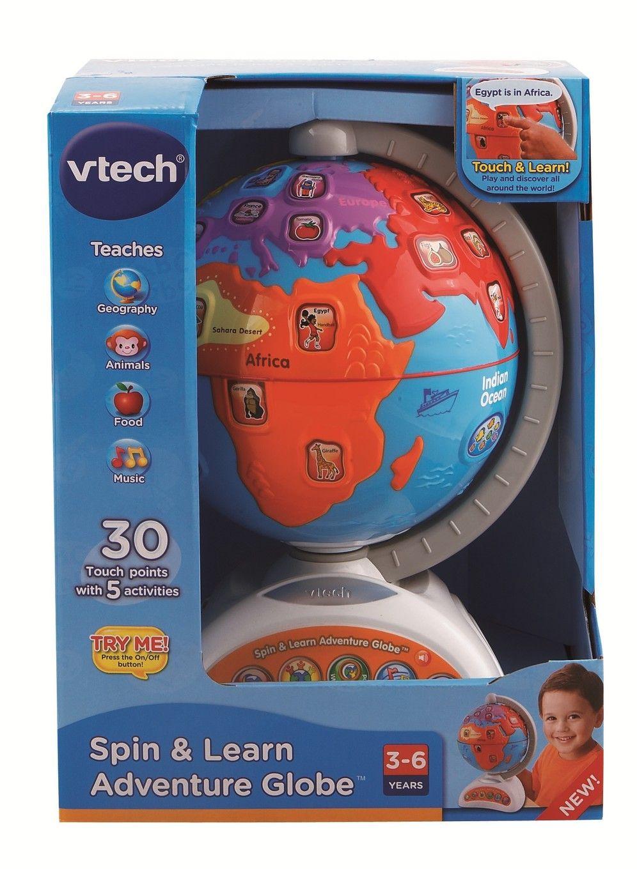 Spin & Learn Adventure Globe | Preschool Learning Toy ...