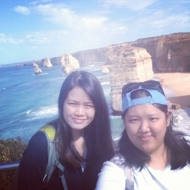 We are here with the #12apostles whee... #relaxing #greatholiday #day10 #day3melb2015 #aussie2015 #definitelyfun by _porci_ http://ift.tt/1ijk11S