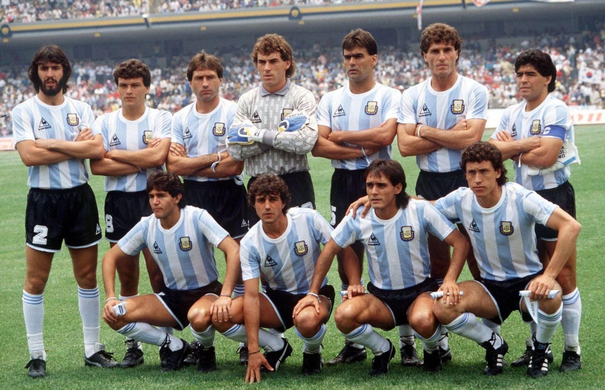 Resultado de imagem para argentina  campeon 1986