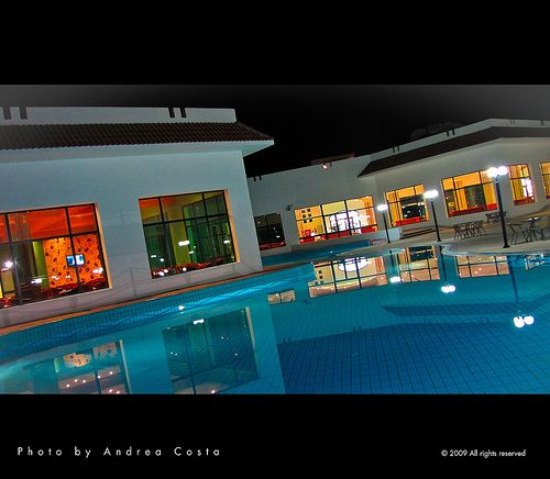 Marsa halam nocturne - Resort by Andrea Costa Photography, via Flickr    |   Please join on my page, your are welcome:  https://www.facebook.com/andreacosta.creativedirector