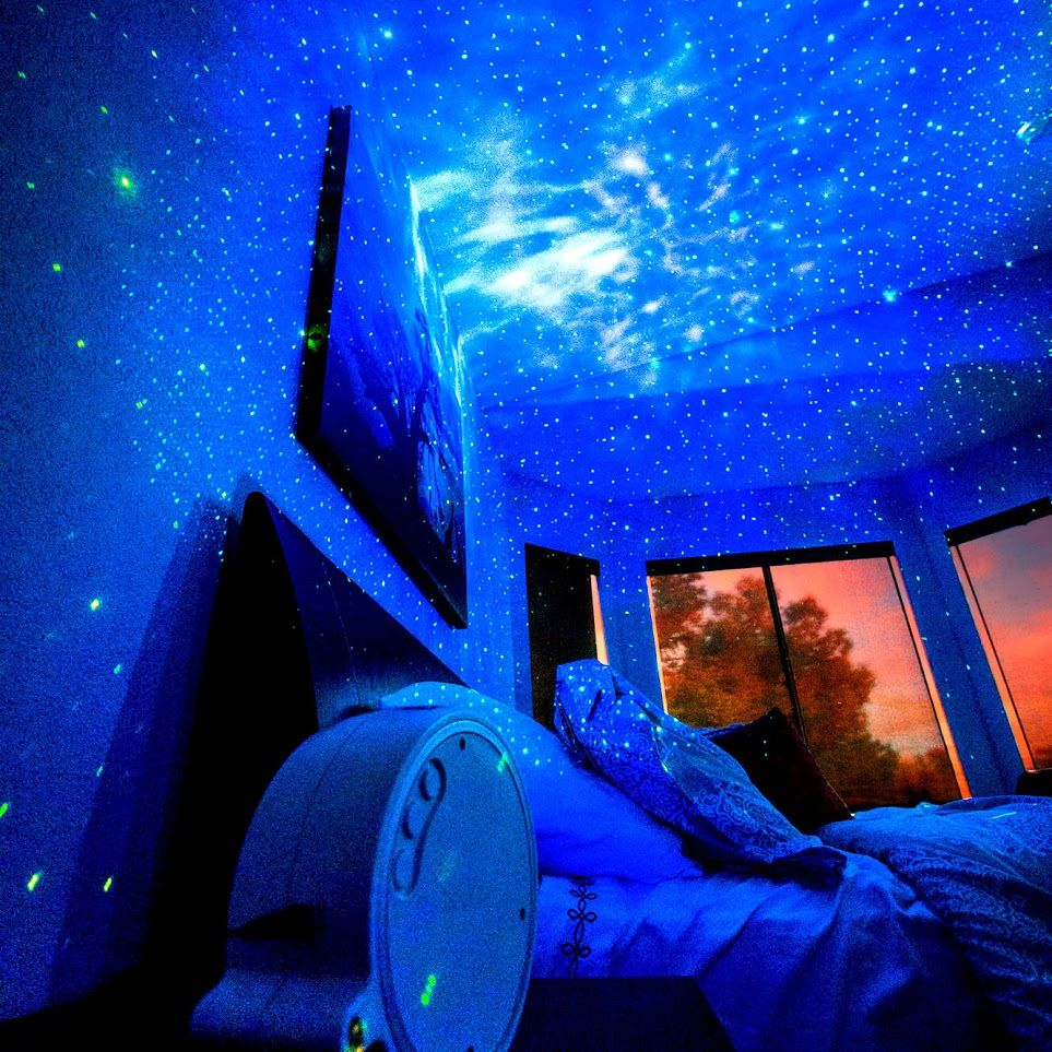 SKYlite Laser Projector Starry Sky Effect Galaxy