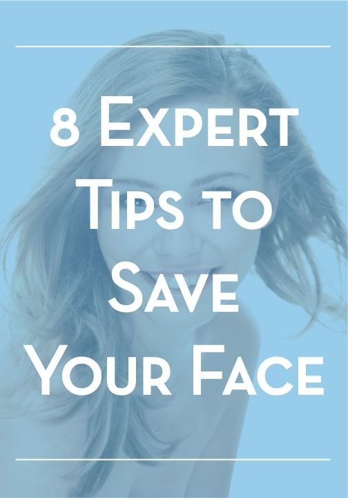 Save your face and prevent acne with these 8 expert skin care tips!