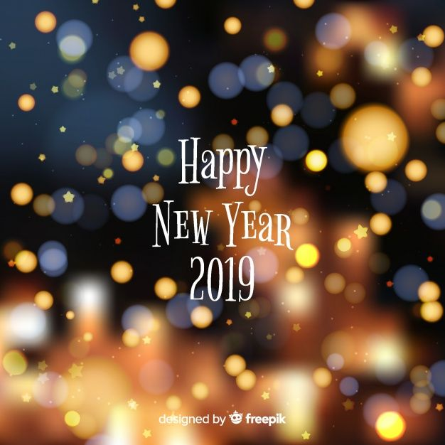 Download Blurred New Year 2019 Background For Free Happy New Year 2019 Backgrounds Free Newyear