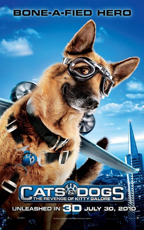 Cats And Dogs 1 2 Dvd Walmart Com Dog Cat Cat Vs Dog Dog Movies