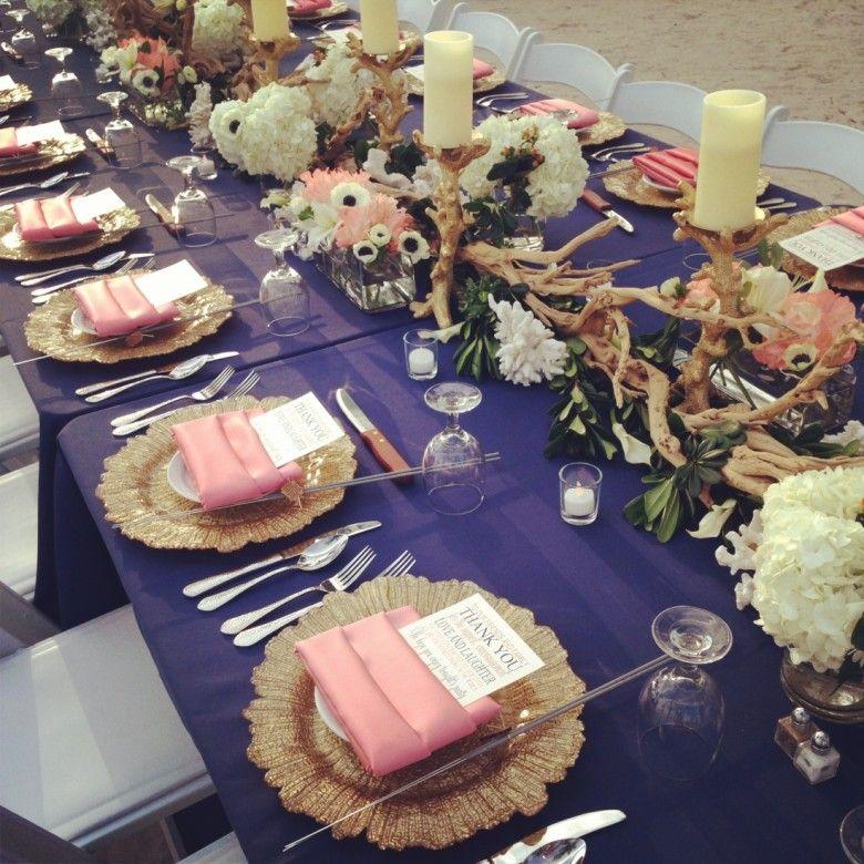 Island Chic wedding decor Soiree Key West Key West Wedding