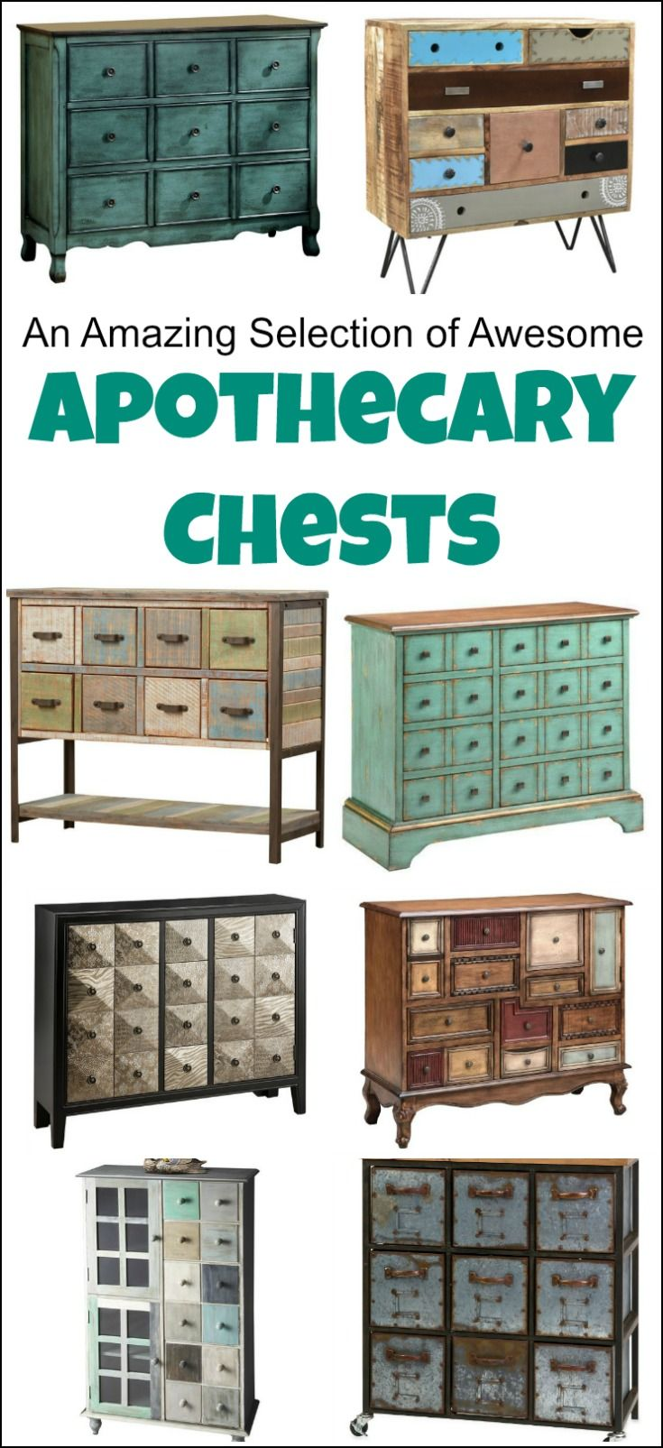 An Amazing Selection Of Awesome Apothecary Chests Apothecary Cabinet Apothecary Cabinet Diy Diy Storage