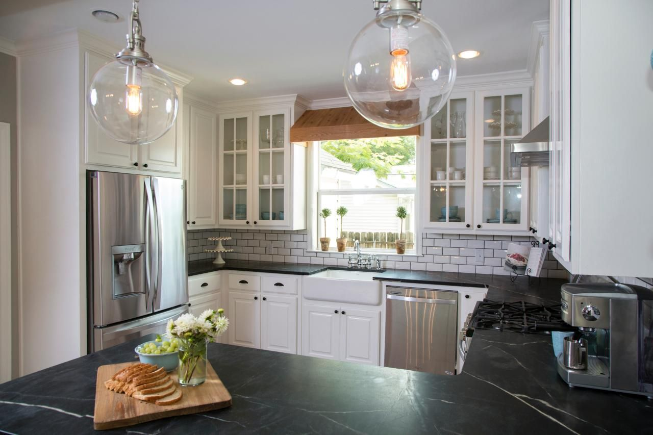 Hgtv fixer upper kitchen makeovers - 17 Best Images About New House Kitchen On Pinterest Quartzite Countertops Faucets And Ranch Homes