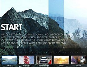 Webpick of the day - Lexus | Million Mile Test Drive