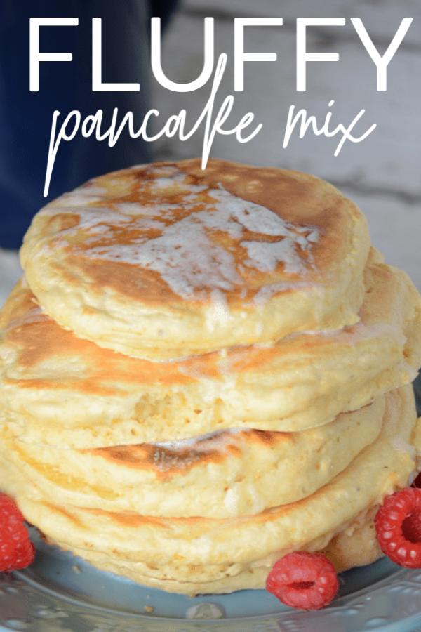 Fluffy Pancake Mix Easy Homemade Recipes Delicious Breakfast Recipes Breakfast Recipes Easy