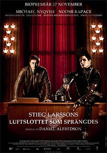 Swedish Release Poster Directed By Daniel Alfredson Produced By Soren Staermose Jon Mankel Noomi Rapace The Girl With The Dragon Tattoo Full Movies Online Free