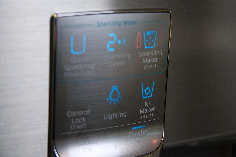 Samsung refrigerator display modern refrigerators