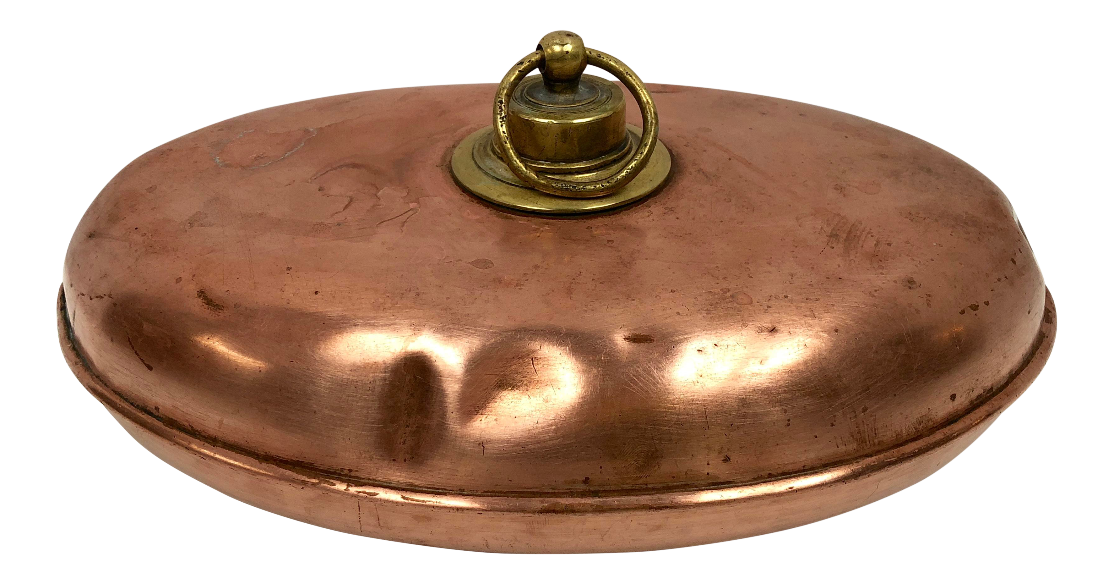 Early 1900s Antique Copper Bed Warmer Copper Bed Antique Copper