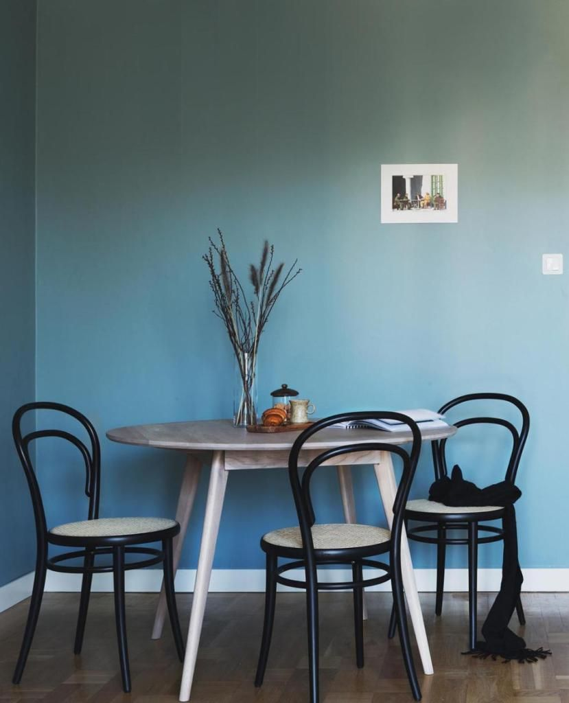 Esszimmer ideen mit grauen wänden wall color love  via coco lapine design  eat scandinavian  pinterest
