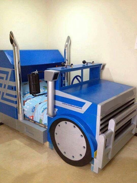 Cool Big Rig Bed Toddler Bed Boy Kids Truck Bed Kids Rooms Diy