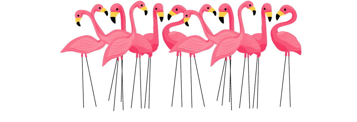 Blog Flamingo clip art