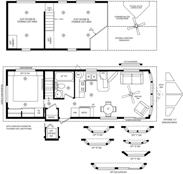 Cavco Park Models. This Is The Double Loft. We