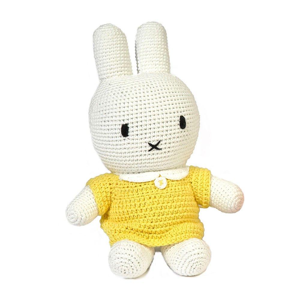 Miffy plush toy - Yellow - Smallable